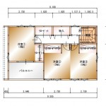 2F平面図(間取)