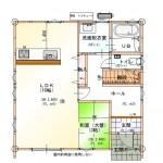 1F平面図(間取)