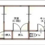 津田アパート201号室